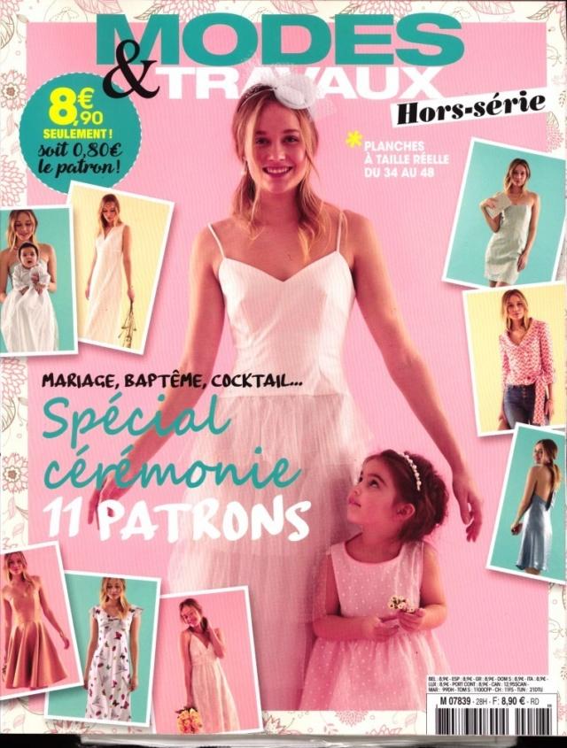 Les magazines de mai 2019 Modes et Travaux hors,série