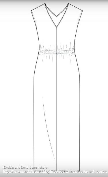 Dessiner Et Coudre 2 Robes 1 Jupe 1 Pantalon à Ses Mesures