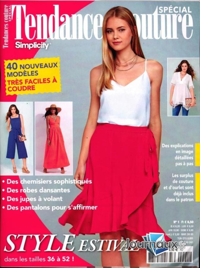 Magazines d'avril 2020: Tendances Couture spécial 1 La Bobine