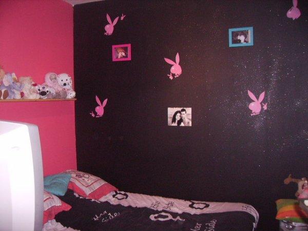 Chambre Baroque Noir Et Rose Elegant Deco Chambre Noir Violet