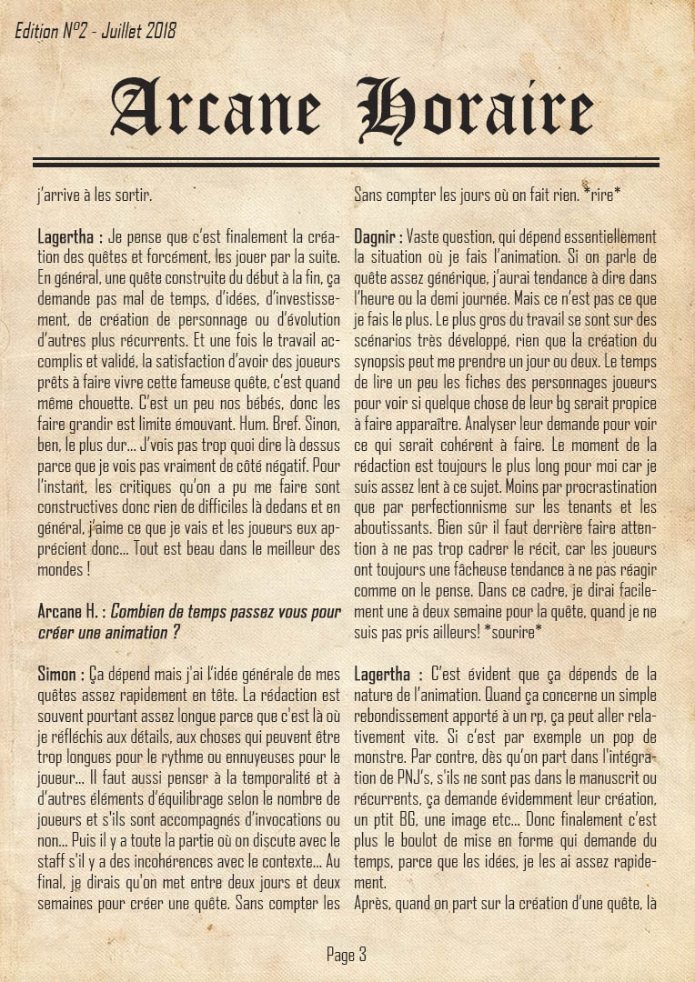 Edition N°2 P3